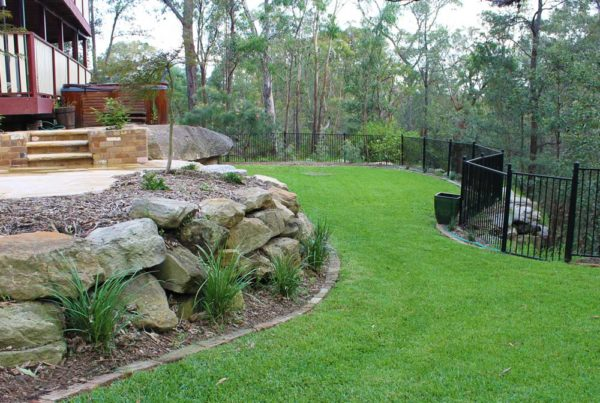 Landscaping Blaxland Feature