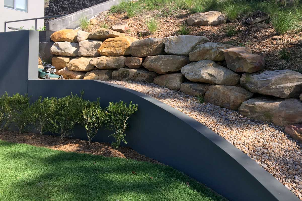 Landscaping Elements Retaining Walls
