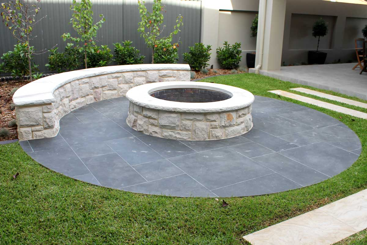 Firepit design and Construction