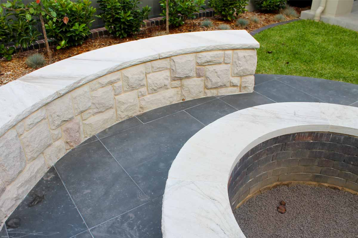 Fire Pit Design and Construction Seat and Pit