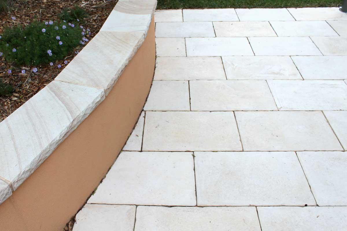 Landscaping Courtyard Large Format Paving
