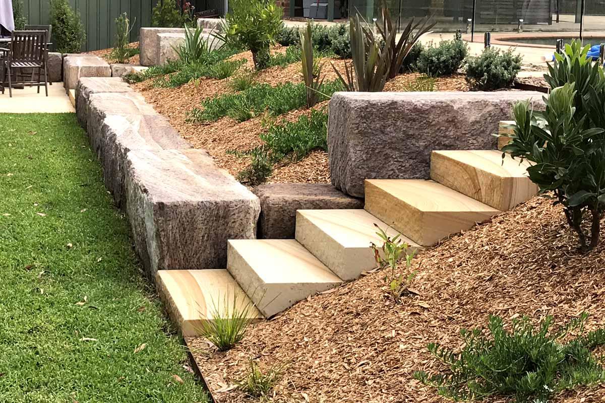 Landscaping Garden Retaining Wall Garden