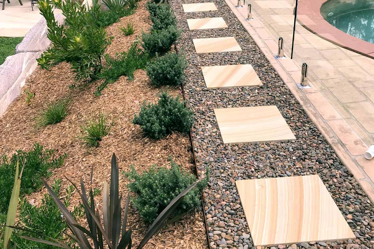 Landscaping Paving Sandstone Courtyards