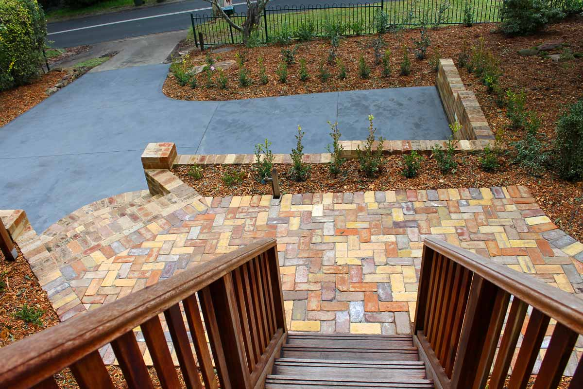Landscaping Paving Courtyard