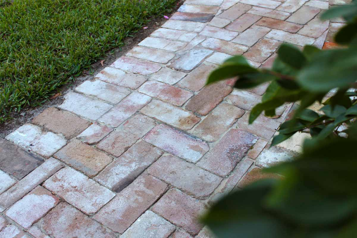 Landscaping Paved Pathway