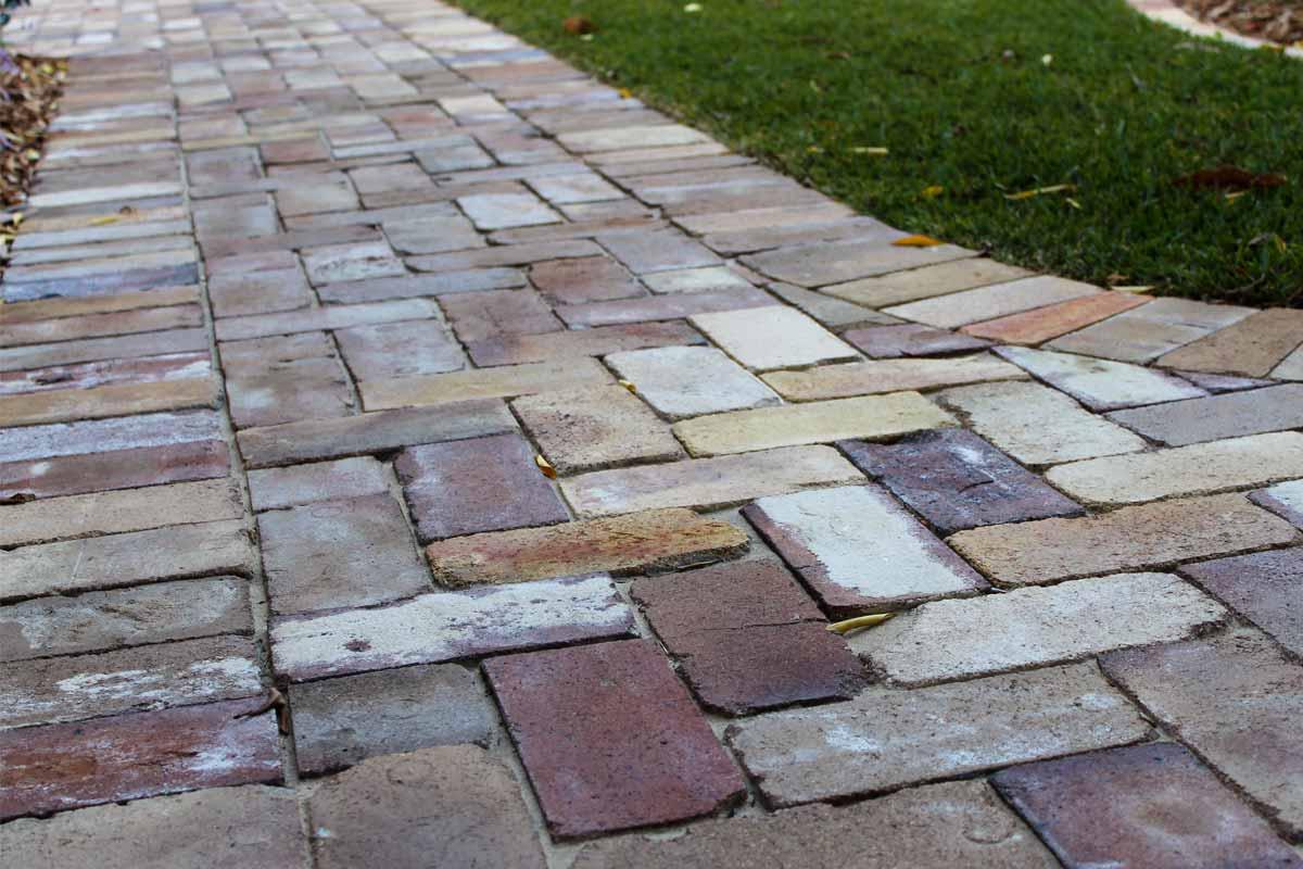 Landscaping Paving Pathway