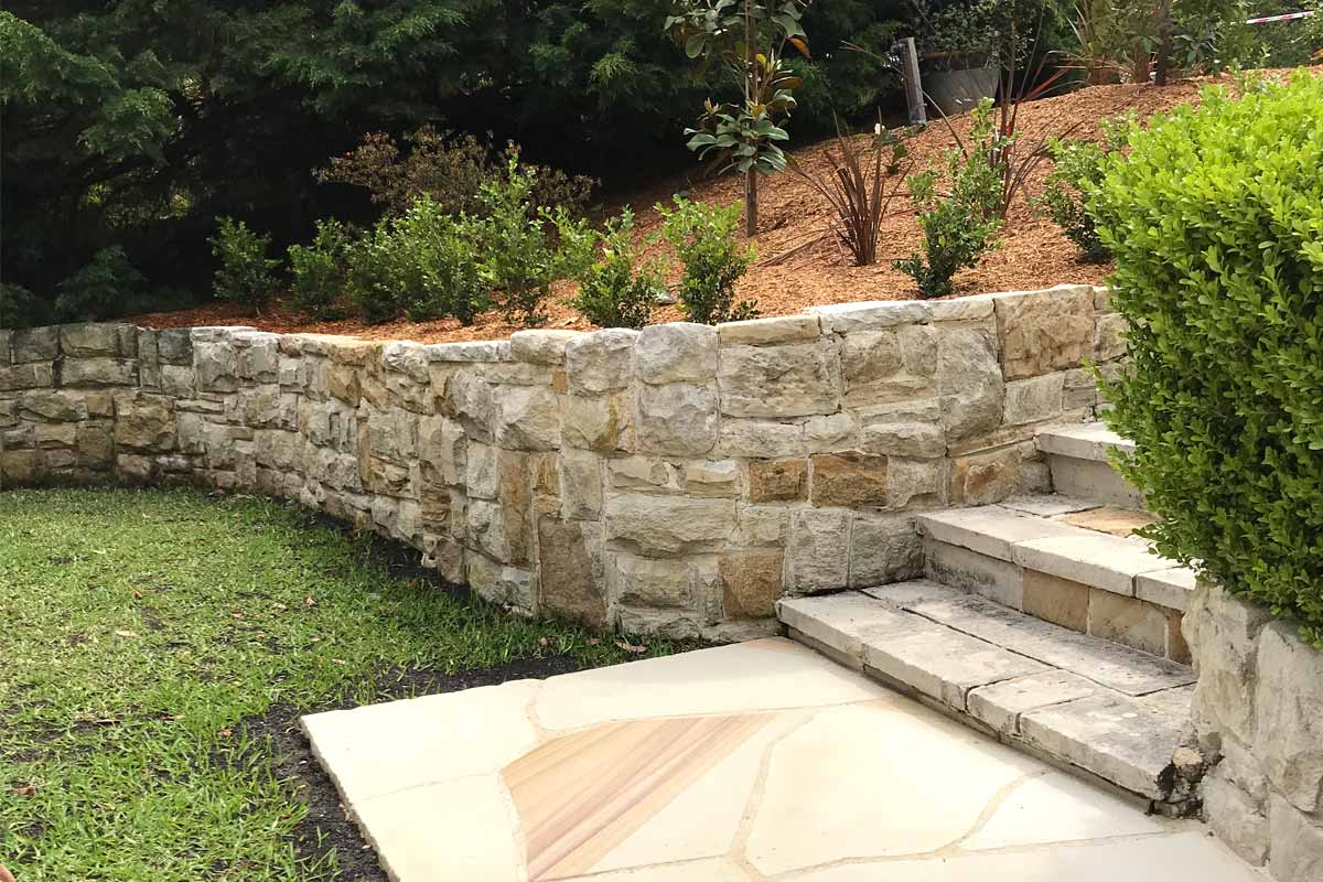 Landscaping Retaining Walls Sandstone Classic Wall