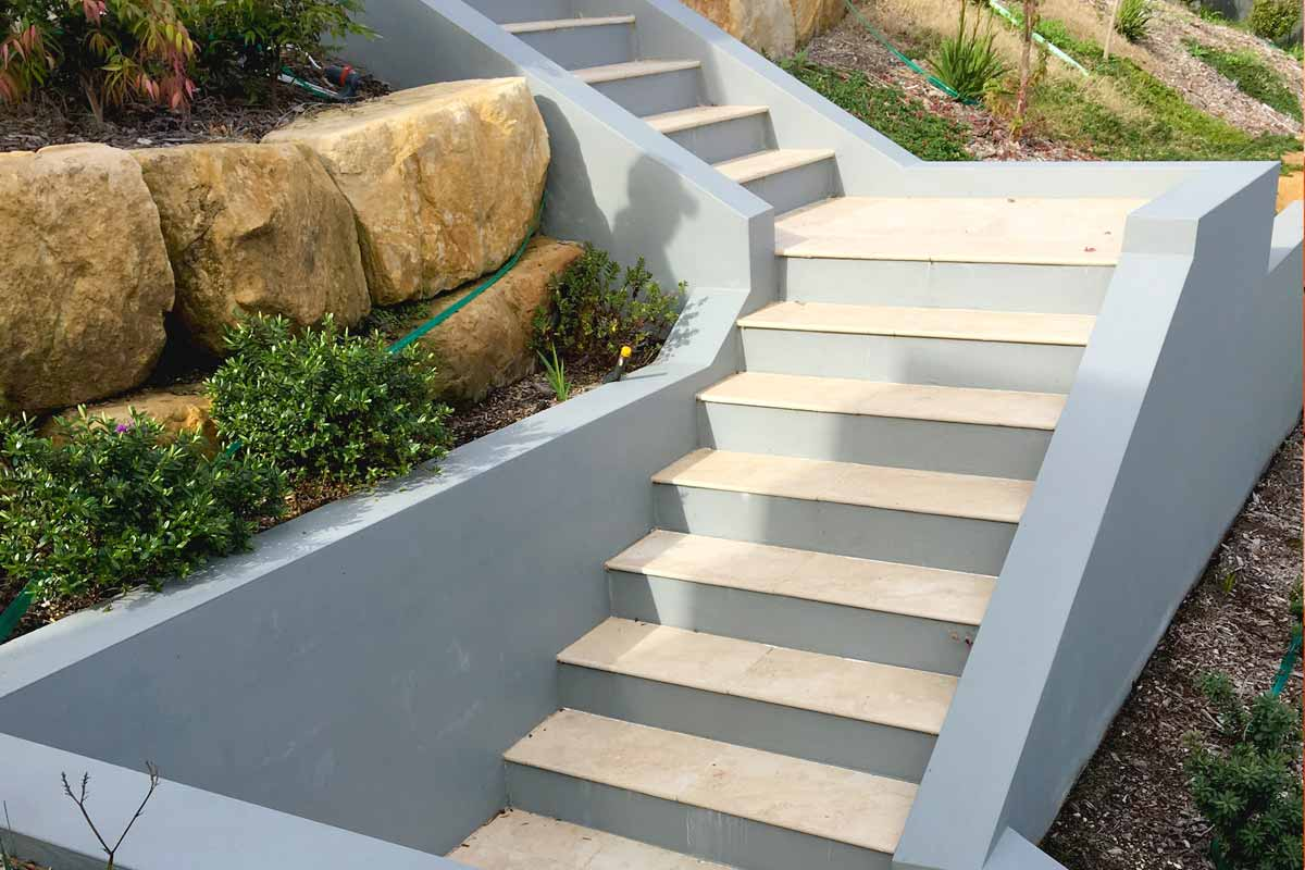 Landscaping Stairs Terrace Stairs