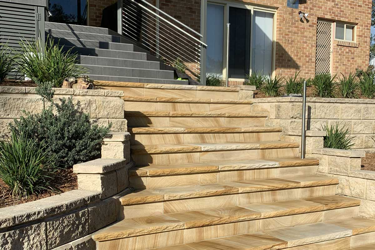 Landscaping Renovation Valley Heights Stairs