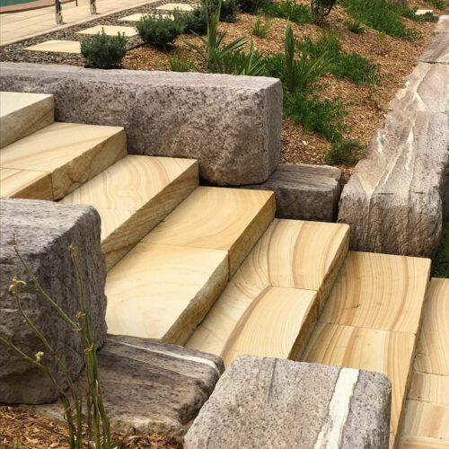 Valley Heights Landscaping Renovation Feature